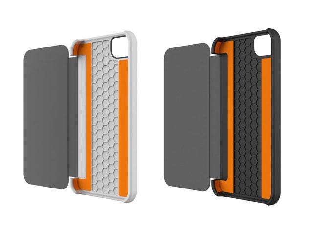 tech21 impact sideflip case met d3o technology voor iphone 5 5s. Black Bedroom Furniture Sets. Home Design Ideas