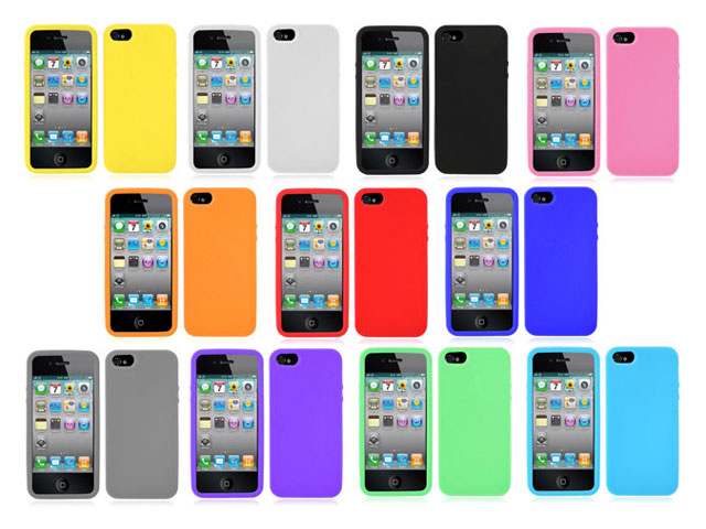 Silicone Skin Case - iPhone SE / 5s / 5 hoesje