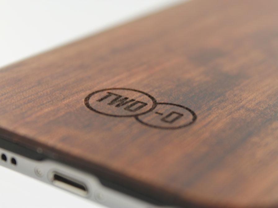 TWO-O Echt Houten Case - iPhone 6/6S hoesje