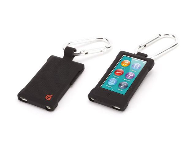 griffin courier clip silicone skin case voor ipod nano 7g. Black Bedroom Furniture Sets. Home Design Ideas