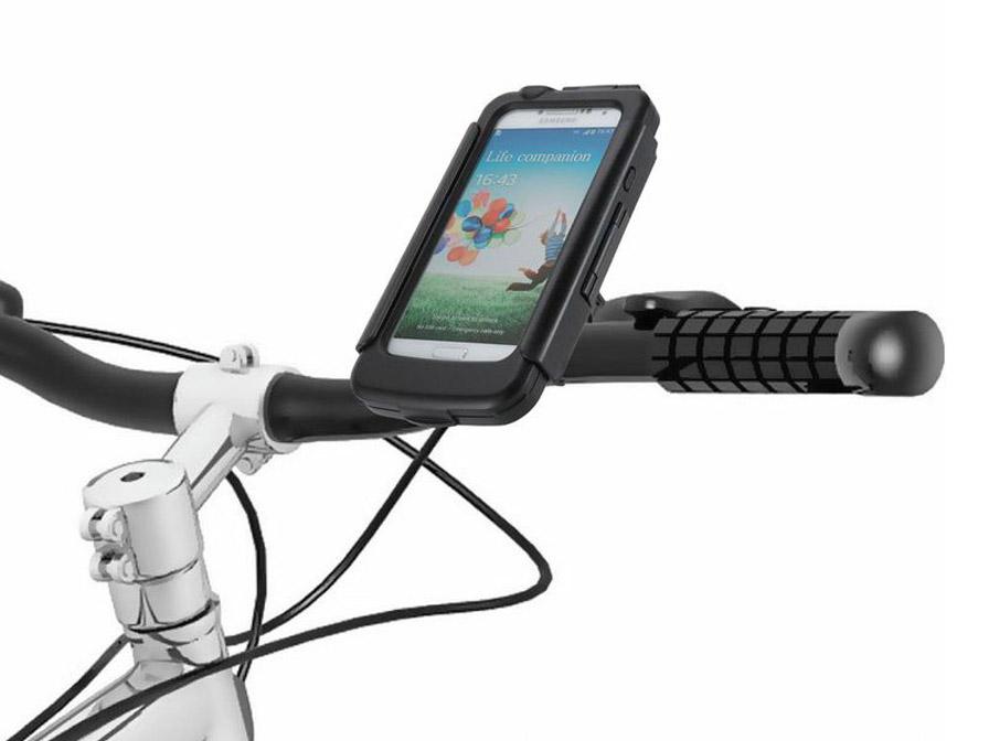 tigra waterproof fietshouder voor samsung galaxy s4