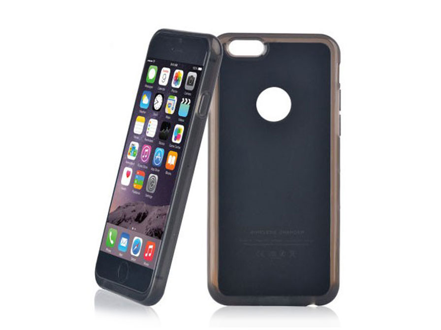 iphone 6 plus draadloos opladen wireless charging. Black Bedroom Furniture Sets. Home Design Ideas