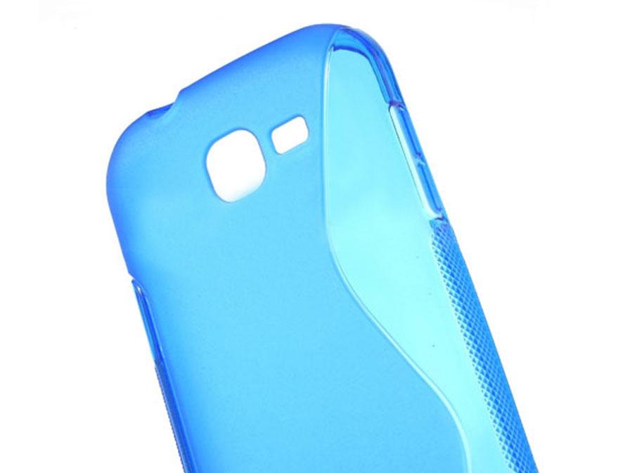 Line TPU Case - Hoesje voor Samsung Galaxy Trend Lite (S7390) foto 2