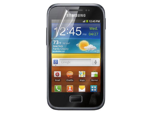 ... Screenprotector (2-pack) voor Samsung Galaxy Ace Plus S7500 foto 2