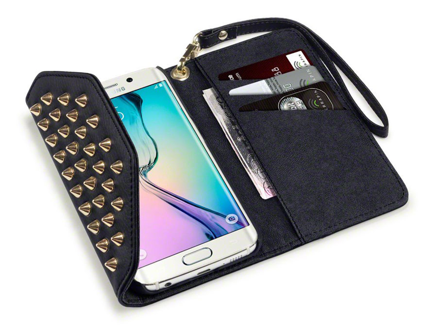 Covert Studded Trifold Wallet Case