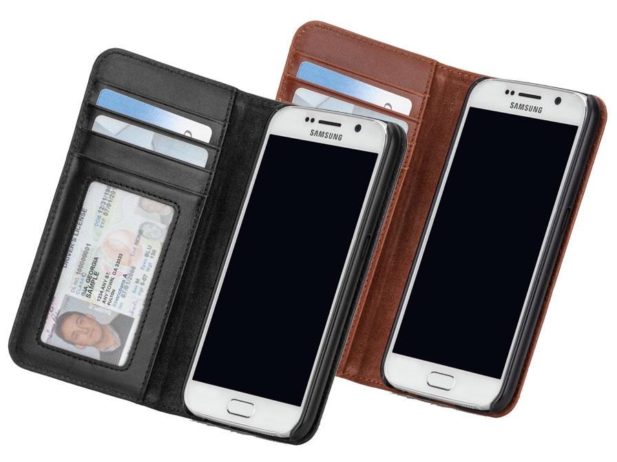 Case Mate Wallet Folio Leren Case Hoesje Samsung Galaxy S6
