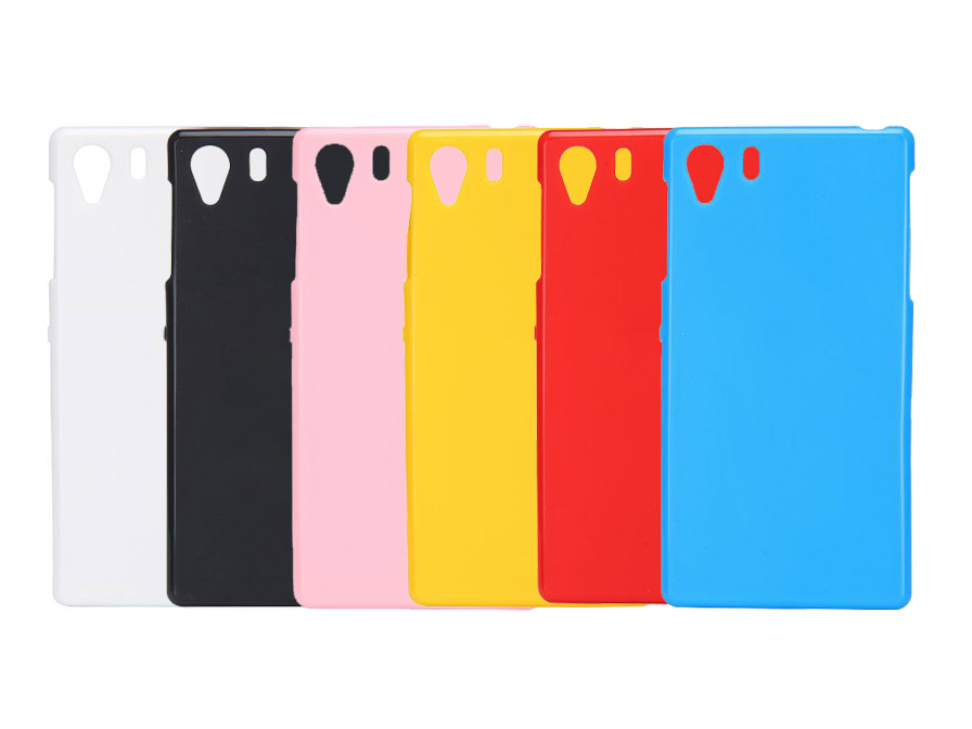 Color Series Tpu Soft Case Hoesje Voor Sony Xperia Z1