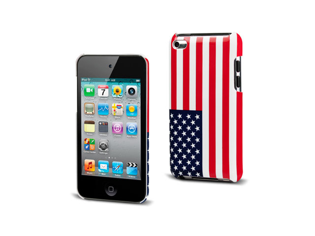 Muvit USA Flag Back Case Hoes voor iPod touch