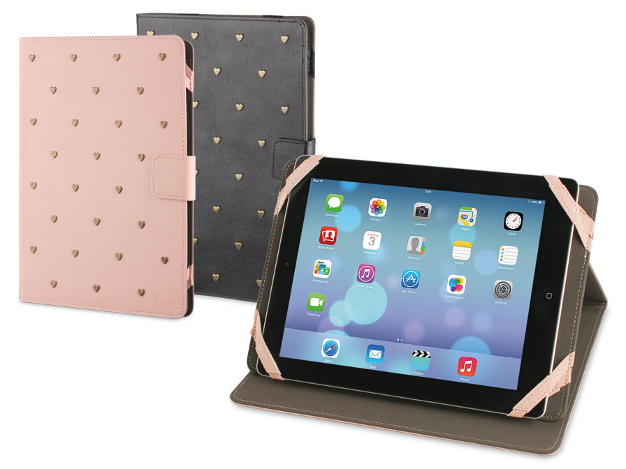 Fab Universal Folio Stand Case Hoes Voor 10 Inch Tablets