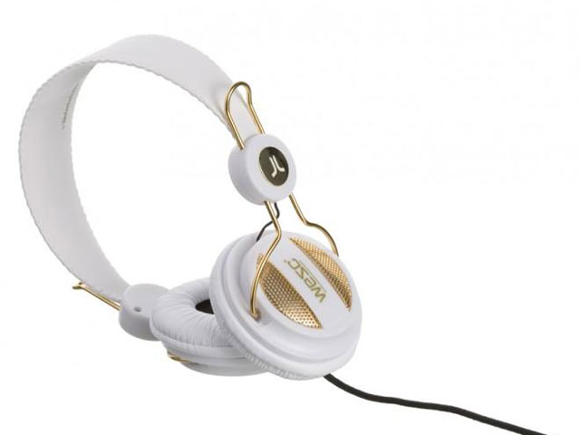 WESC Oboe Over-Ear Headphone 'Golden White'