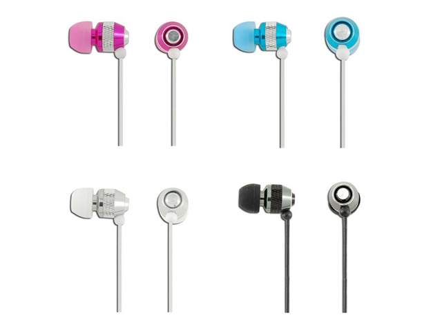 WallyTech WHF-08I In-Ear Headset met Microfoon