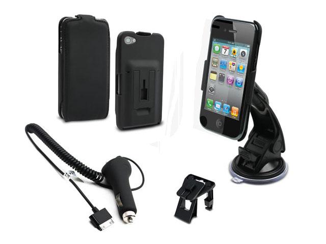 ... Car Pack Plus met Unieke Autohouder Case voor iPhone 4/4S u20ac 41,99