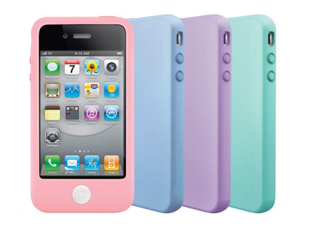 SwitchEasy Colors Pastels Silicone Skin iPhone 4/4S : KloegCom.nl