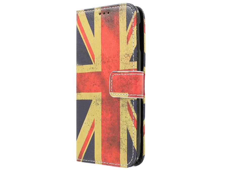 Vintage GB Flag Book Case Hoesje voor Acer Liquid Jade S