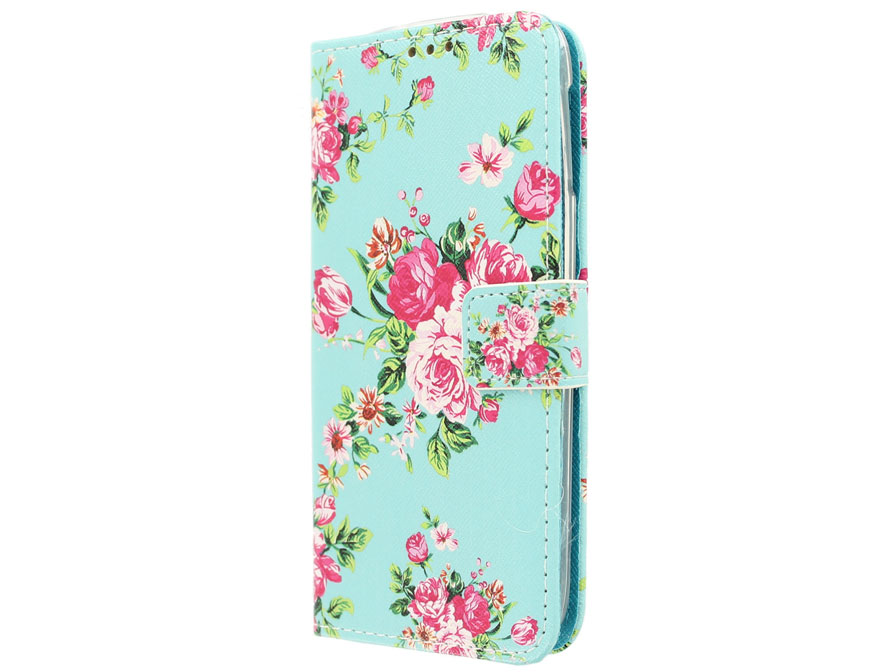 Flower Book Case - Acer Liquid Jade S/Jade Z hoesje