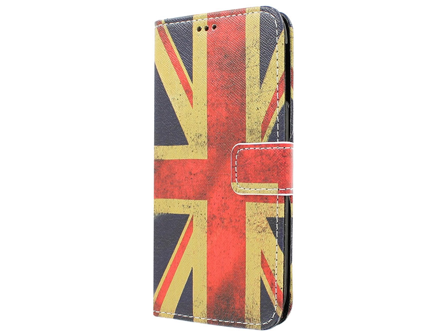 Vintage GB Flag Book Case Hoesje voor Acer Liquid Jade Z