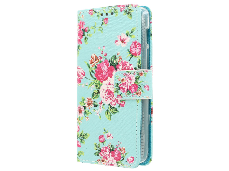 Flower Book Case - Acer Liquid Z200 hoesje