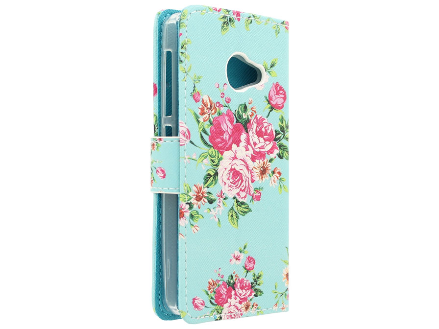 Flower Book Case - Acer Liquid Z220 hoesje