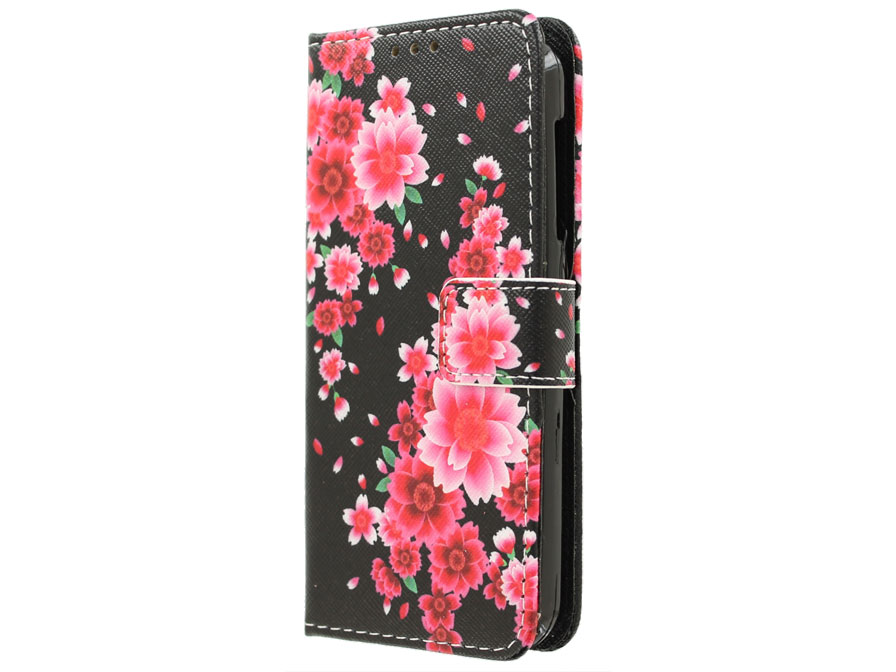 Acer Liquid Z330 Hoesje - Lily Book Case