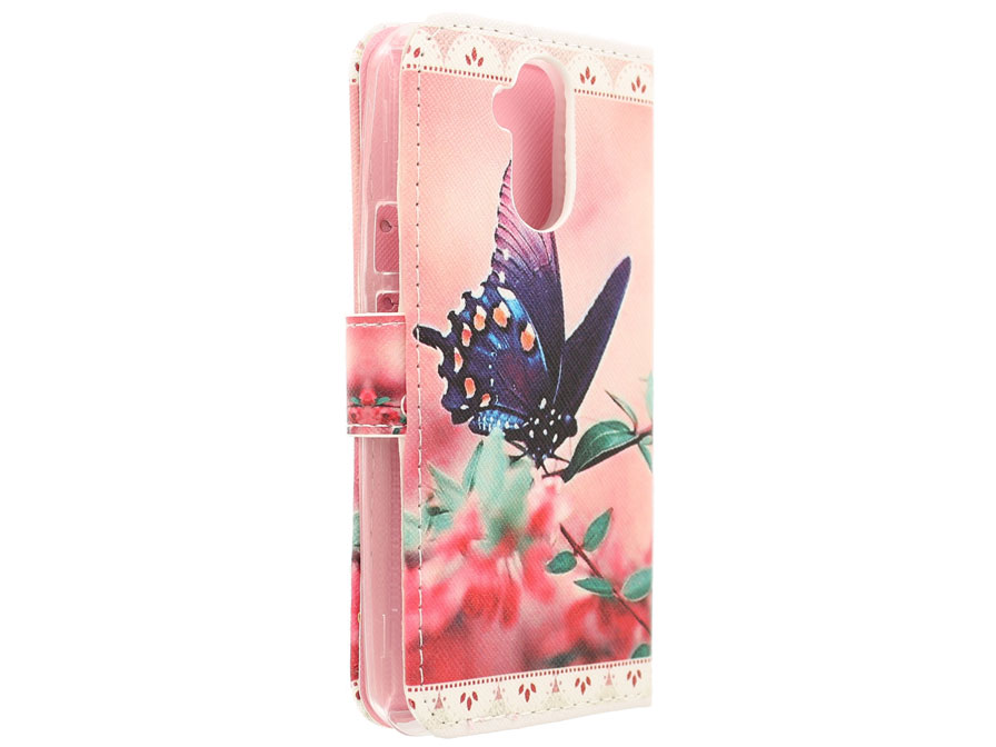 Butterfly Book Case - Acer Liquid Z410 hoesje
