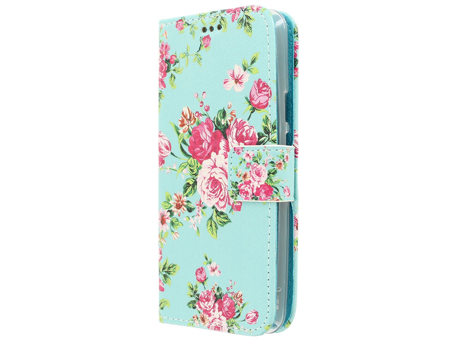 Flower Book Case - Acer Liquid Z410 hoesje