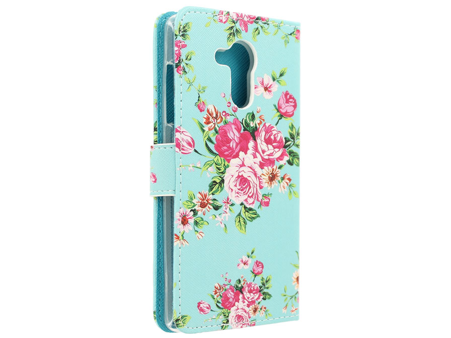 Flower Book Case - Acer Liquid Z500 hoesje