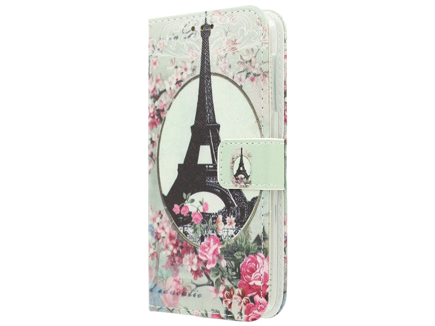 Acer Liquid Z530 Hoesje - Retro Paris Book Case