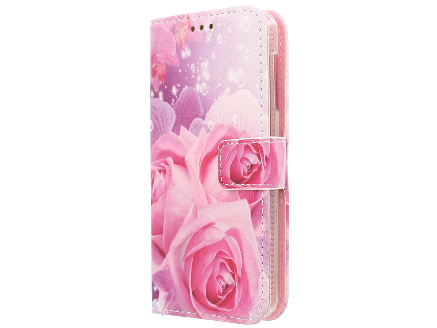 Acer Liquid Z530 Hoesje - Roses Book Case