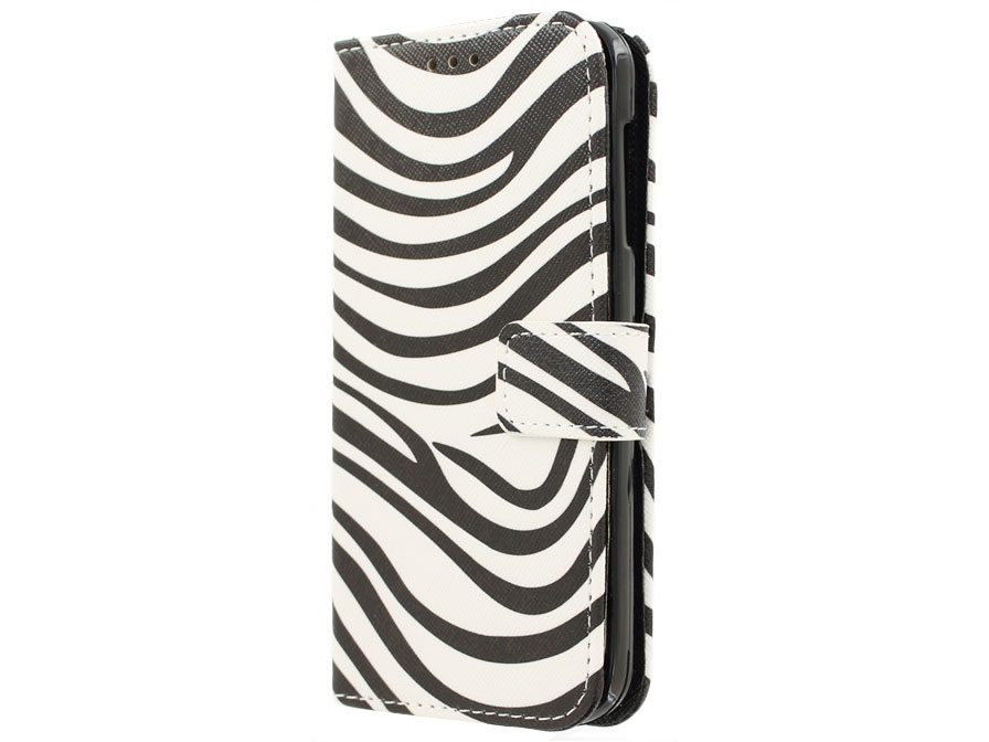 Acer Liquid Z530 Hoesje - Zebra Book Case