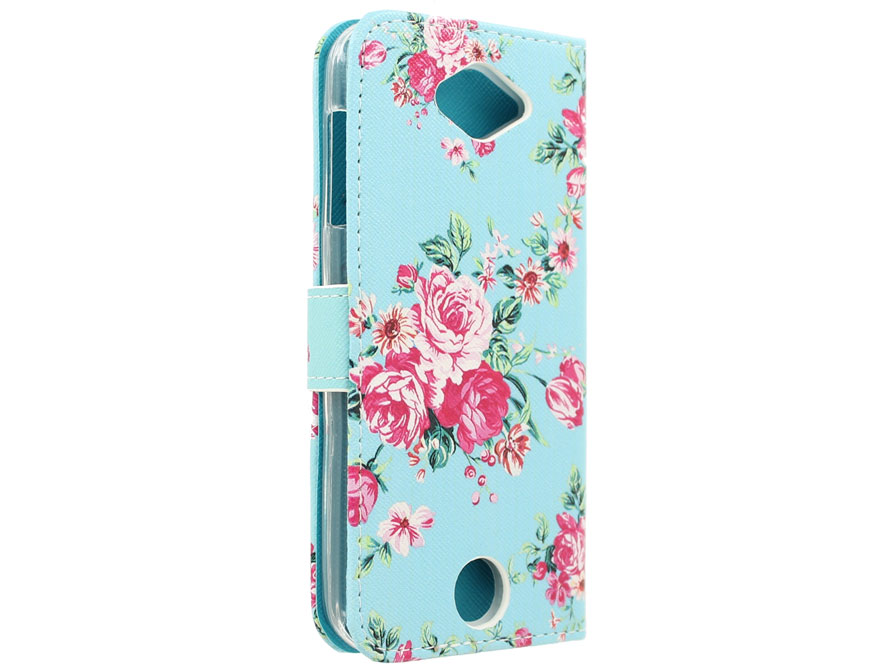 Acer Liquid Z530 Hoesje - Flower Book Case