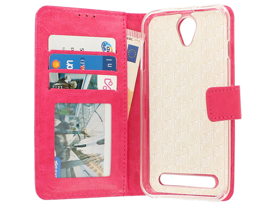 Wallet Bookcase - Acer Liquid Z6 hoesje