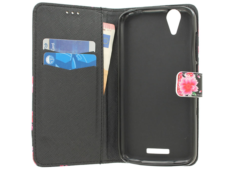 Acer Liquid Z630 Hoesje - Lily Flower Book Case