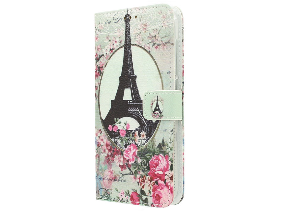 Acer Liquid Z630 Hoesje - Retro Paris Book Case
