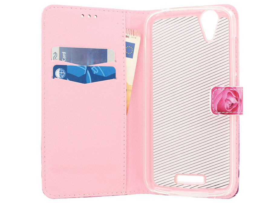 Acer Liquid Z630 Hoesje - Roses Book Case