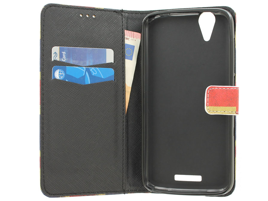 Acer Liquid Z630 Hoesje - Vintage GB Book Case