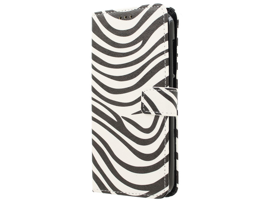 Acer Liquid Z630 Hoesje - Zebra Book Case