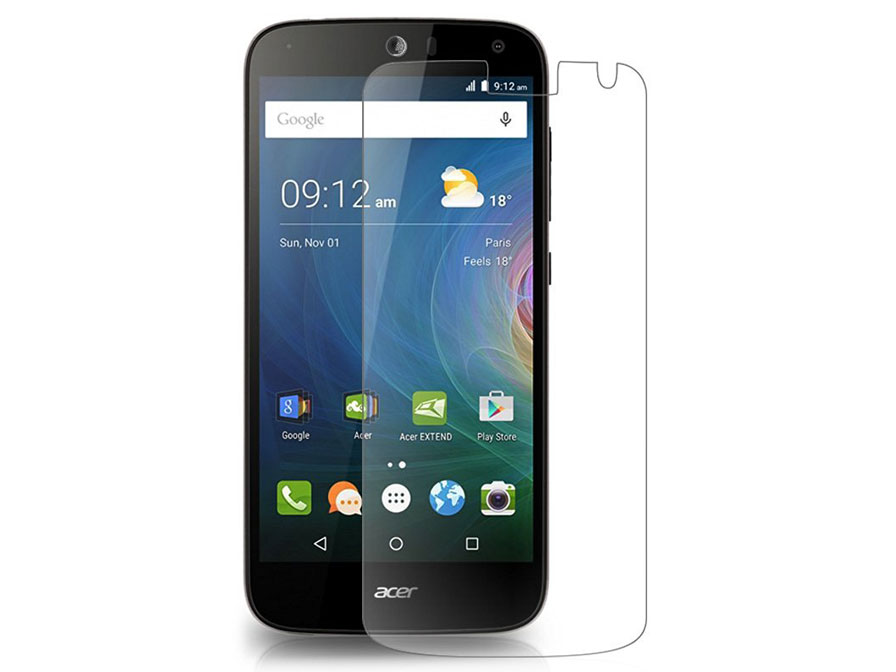 Acer Liquid Z630 Screenprotector Tempered Glas