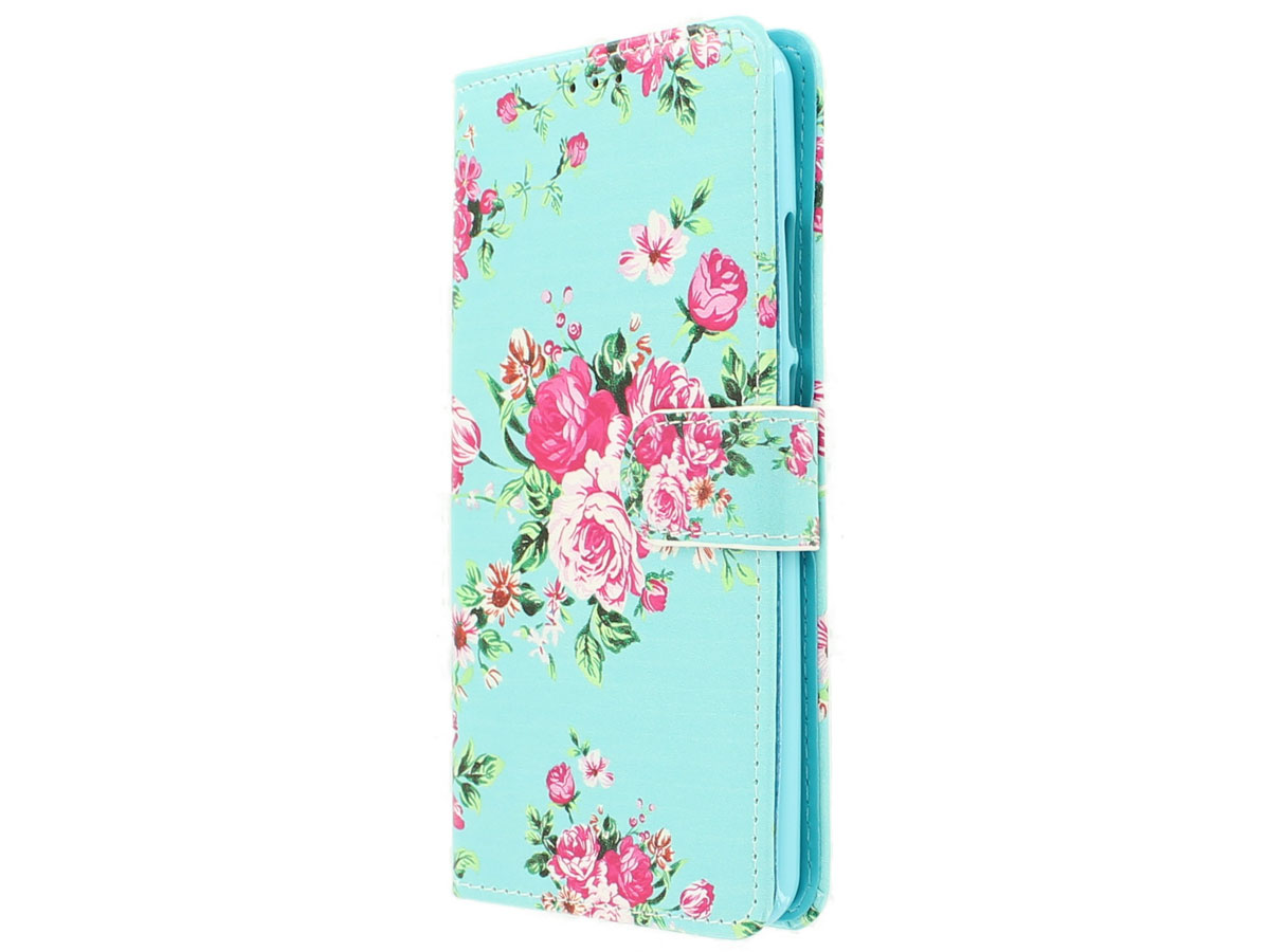 Flower Bookcase - Acer Liquid Z6 Plus hoesje