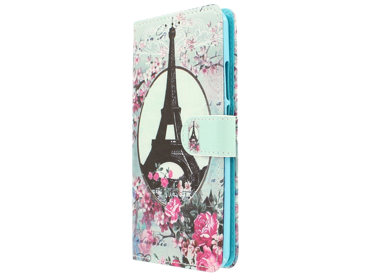 Retro Paris Bookcase - Acer Liquid Z6 Plus hoesje