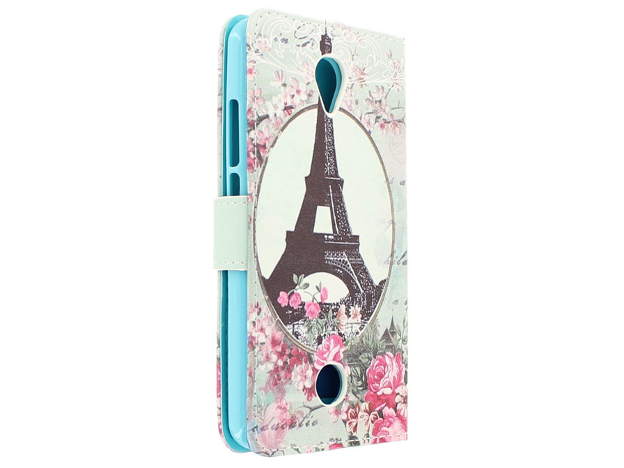 Retro Paris Bookcase - Acer Liquid Zest hoesje