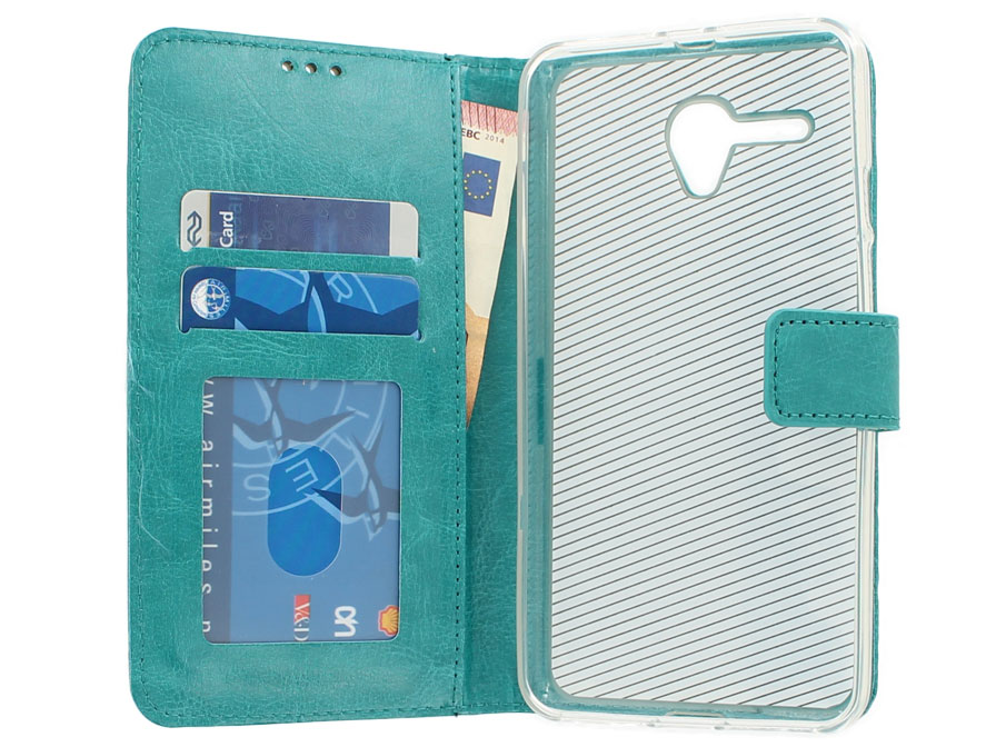 Wallet Bookcase - Alcatel Pop 3 (5.5) hoesje