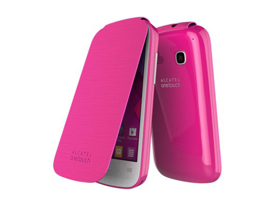 Alcatel OneTouch Pop C3 Flip Cover - Origineel Hoesje