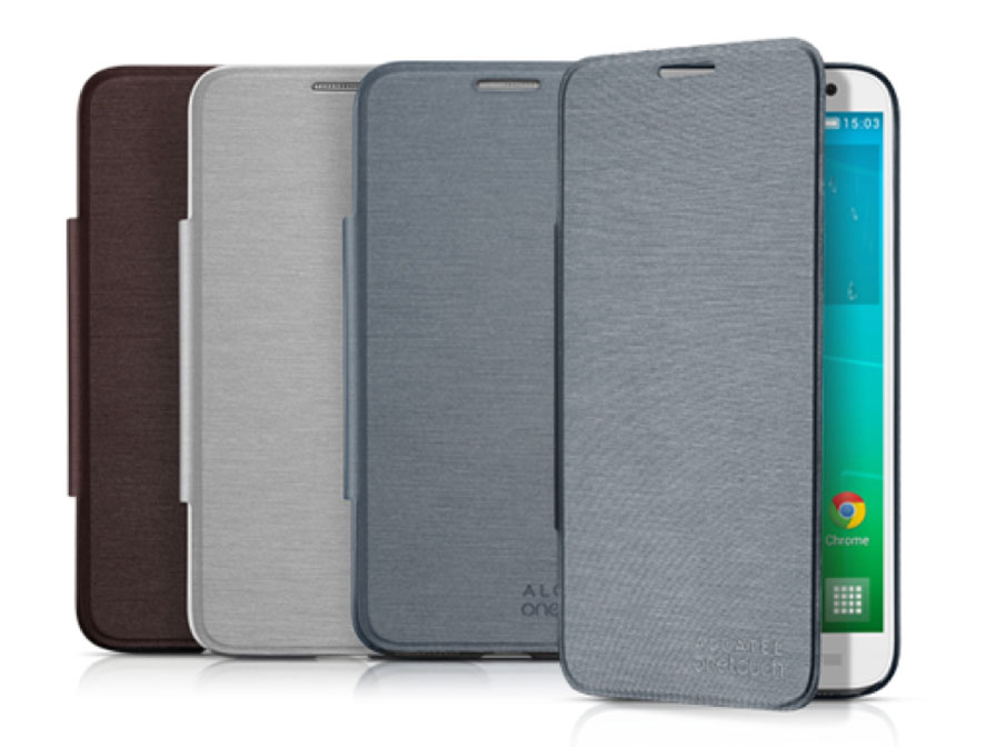 Alcatel OneTouch Idol 2 S Flip Cover - Origineel Hoesje