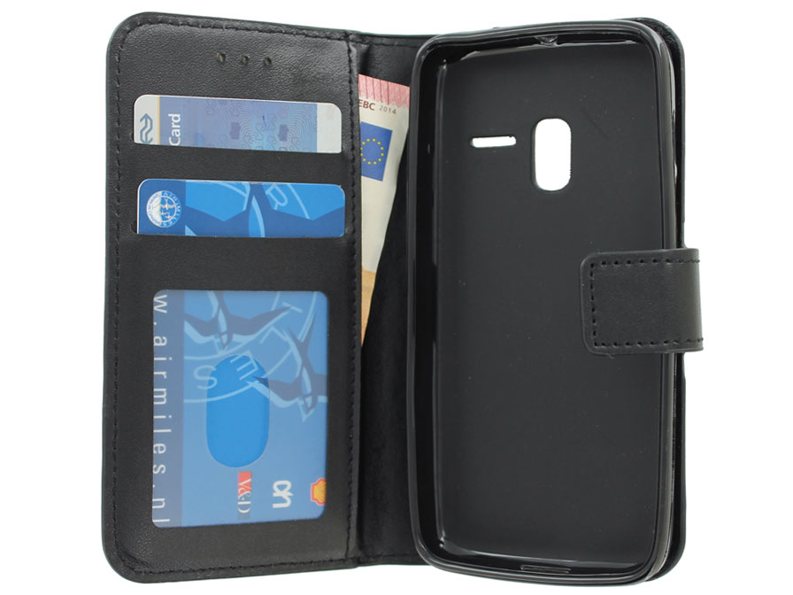 Wallet Book Case - Alcatel One Touch PIXI 3 4.5 Hoesje