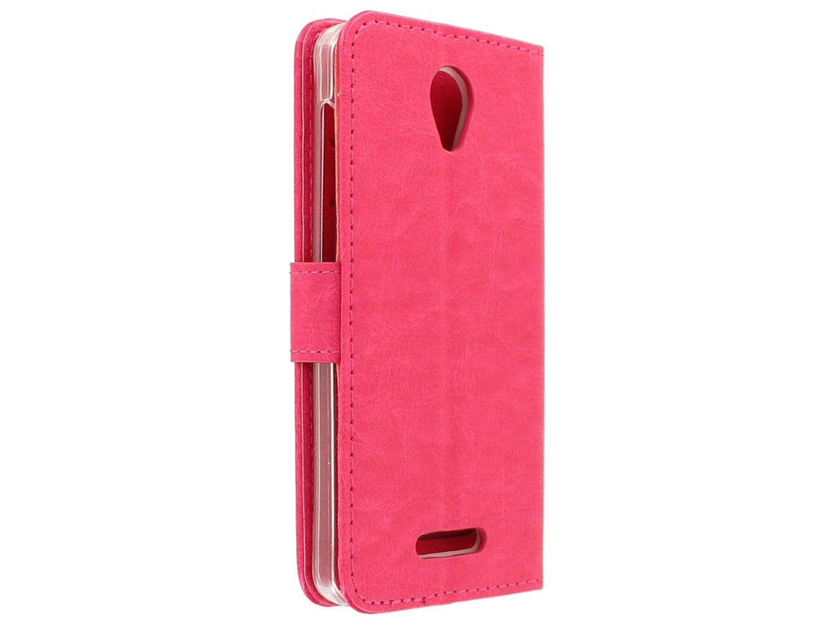 Bookcase Roze - Alcatel Pop 4 hoesje