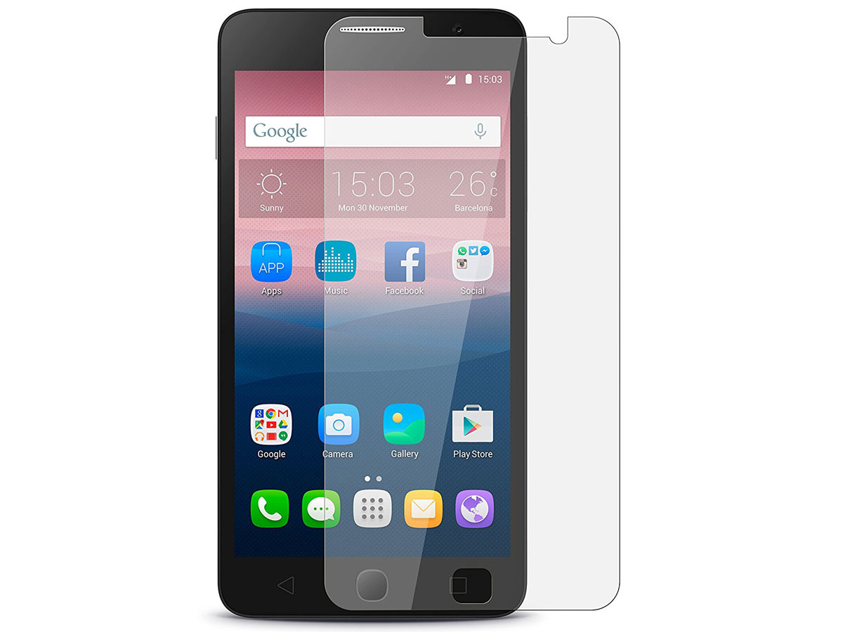 Alcatel Pop 4 Screenprotector Glas Tempered Glass
