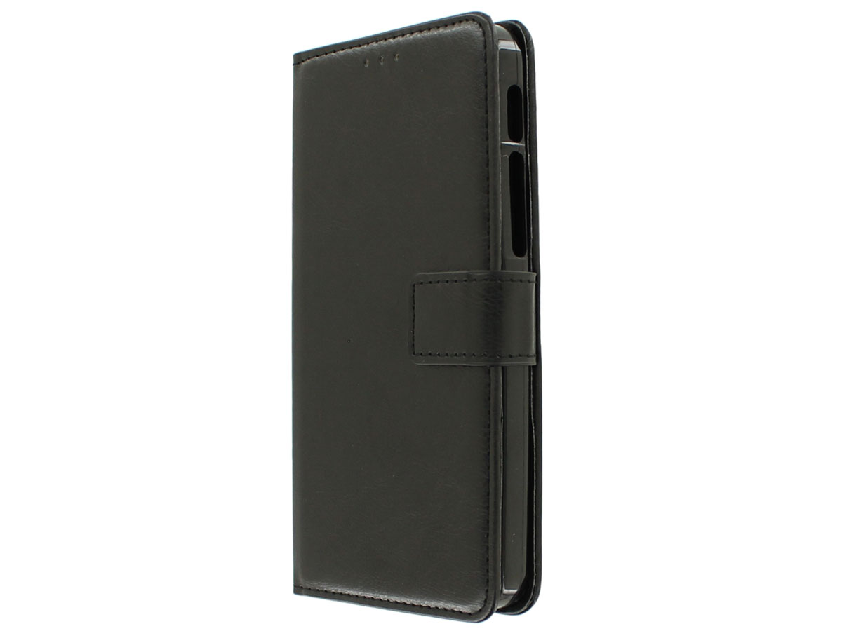 Bookcase Zwart - Alcatel Pop 4 Plus hoesje