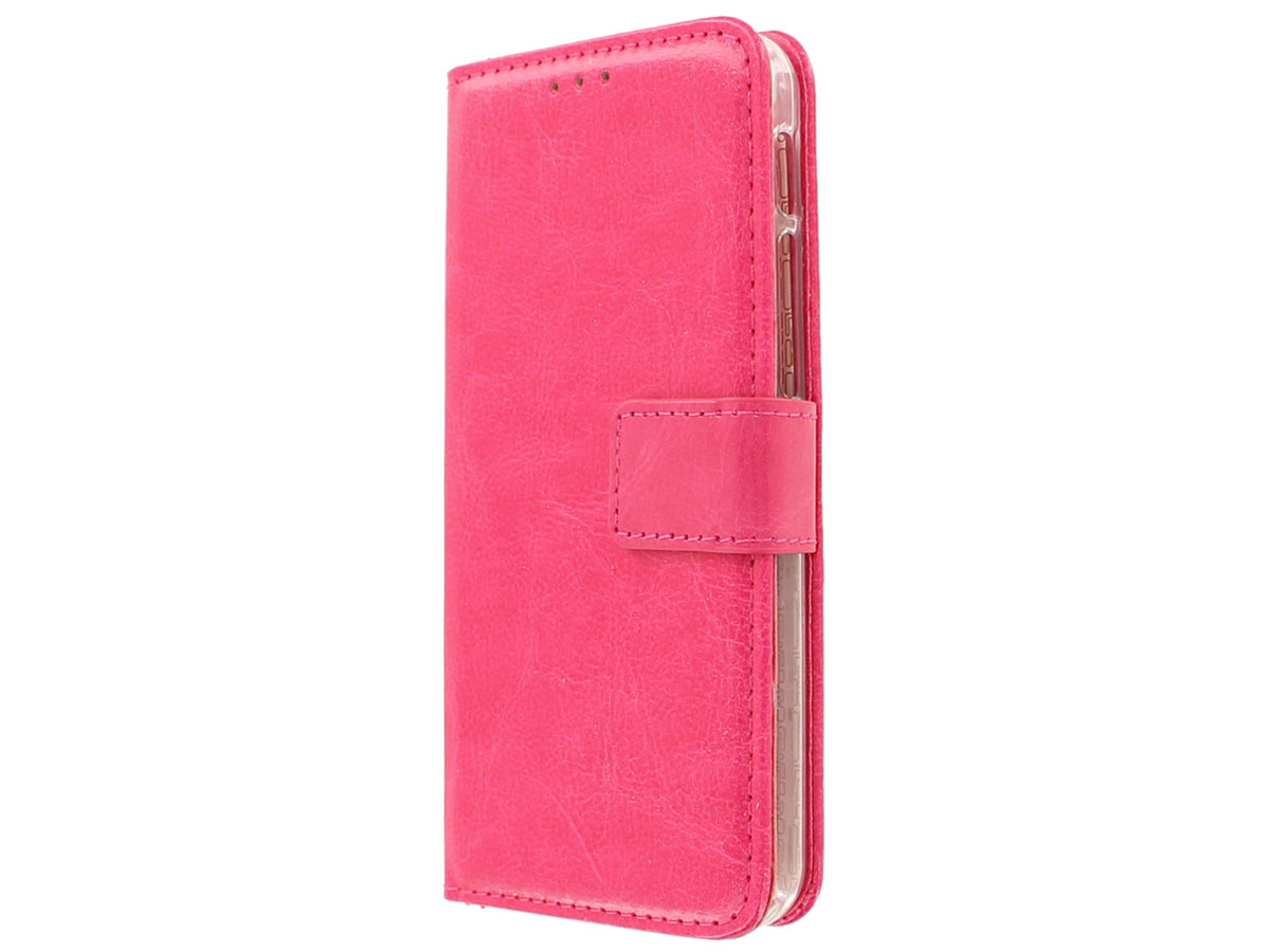 Bookcase Roze - Alcatel Shine Lite hoesje