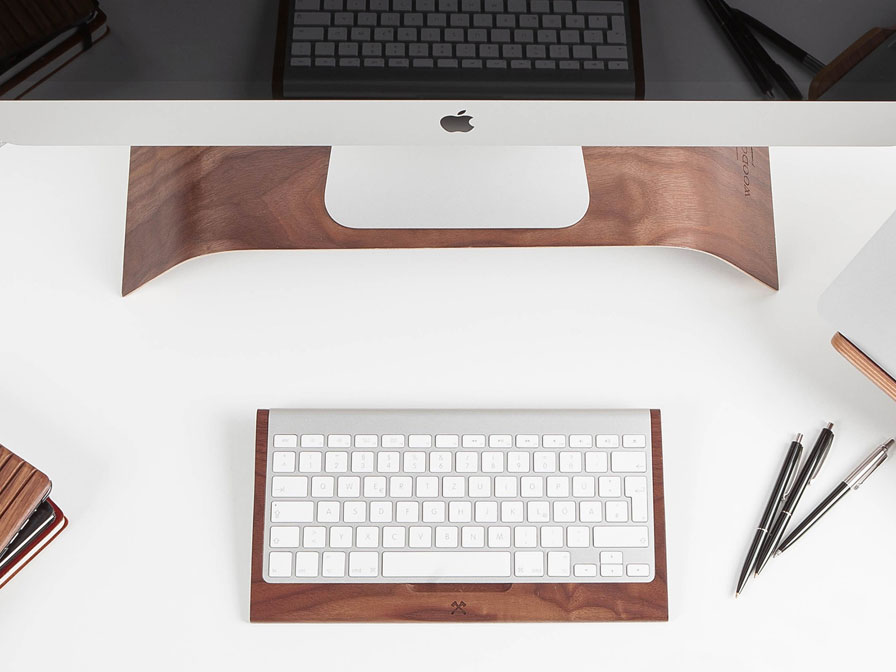 Woodcessories EcoTray Walnut - Apple Wireless Keyboard