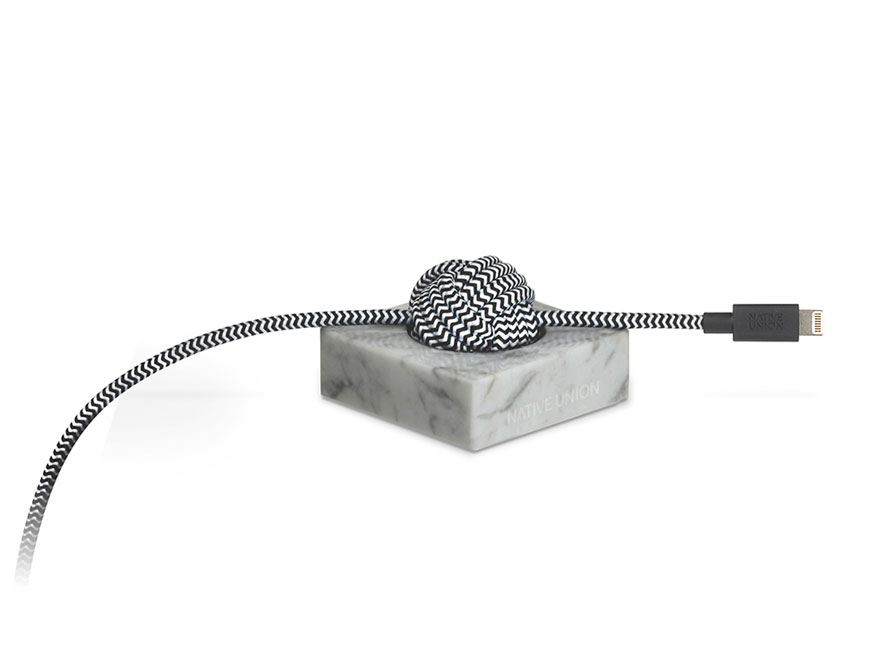 Native Union Night Cable Marble - Lightning USB kabel